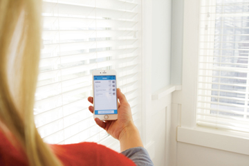 """Motorization for 2 ' and 2 1/2"""" wood blinds"""